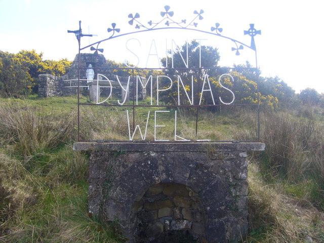 a shrine in Caldavnet, Tydavnet, Monaghan County Ireland