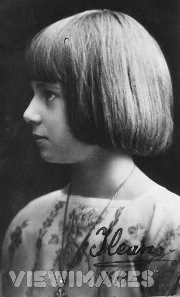 Ileana of Romania as a young child