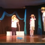 "Scenes from ""Poseidon and Medusa"" the dramatic performance staged by the students of the HELP afternoon program"