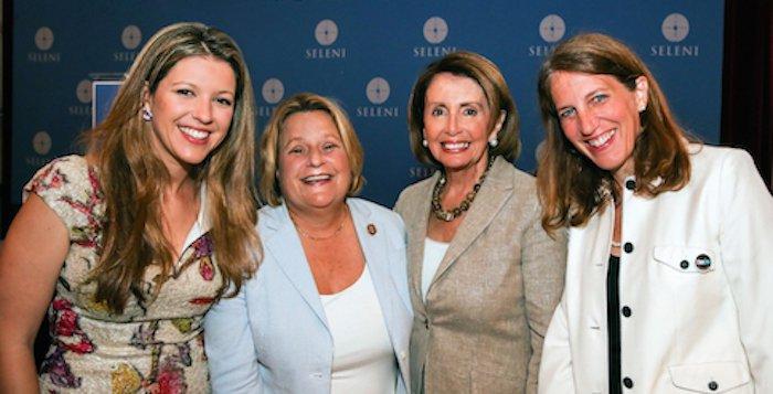 Seleni honors two female Congresswomen