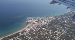 flying home for Greek summer