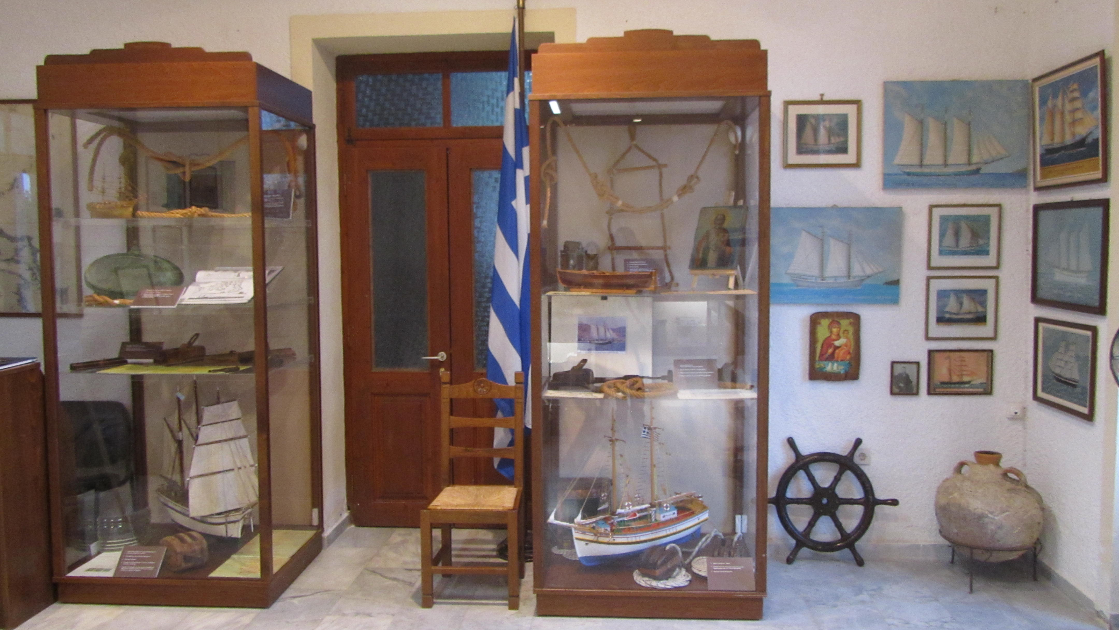 Maritime Museum of Skiathos outlines the sailing life