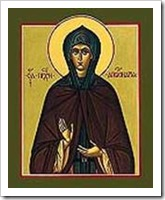 St Apollinaria was accused of raping her own sister but only after her death was it revealed that she had been a woman disguised as a male monk