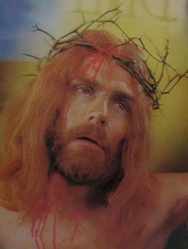 Lenticular image Jesus