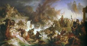Wilhelm von Kaulbach, The Sea Battle of Salamis, 1868