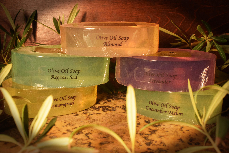 Olive oil soaps - july