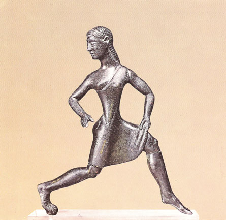 female Spartan racer