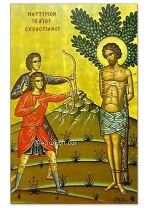 Saint Sebastian's Martyrdom