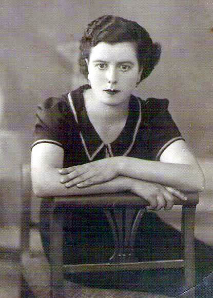 Kalliroi Paren as a young woman at the cusp of launching her literary career