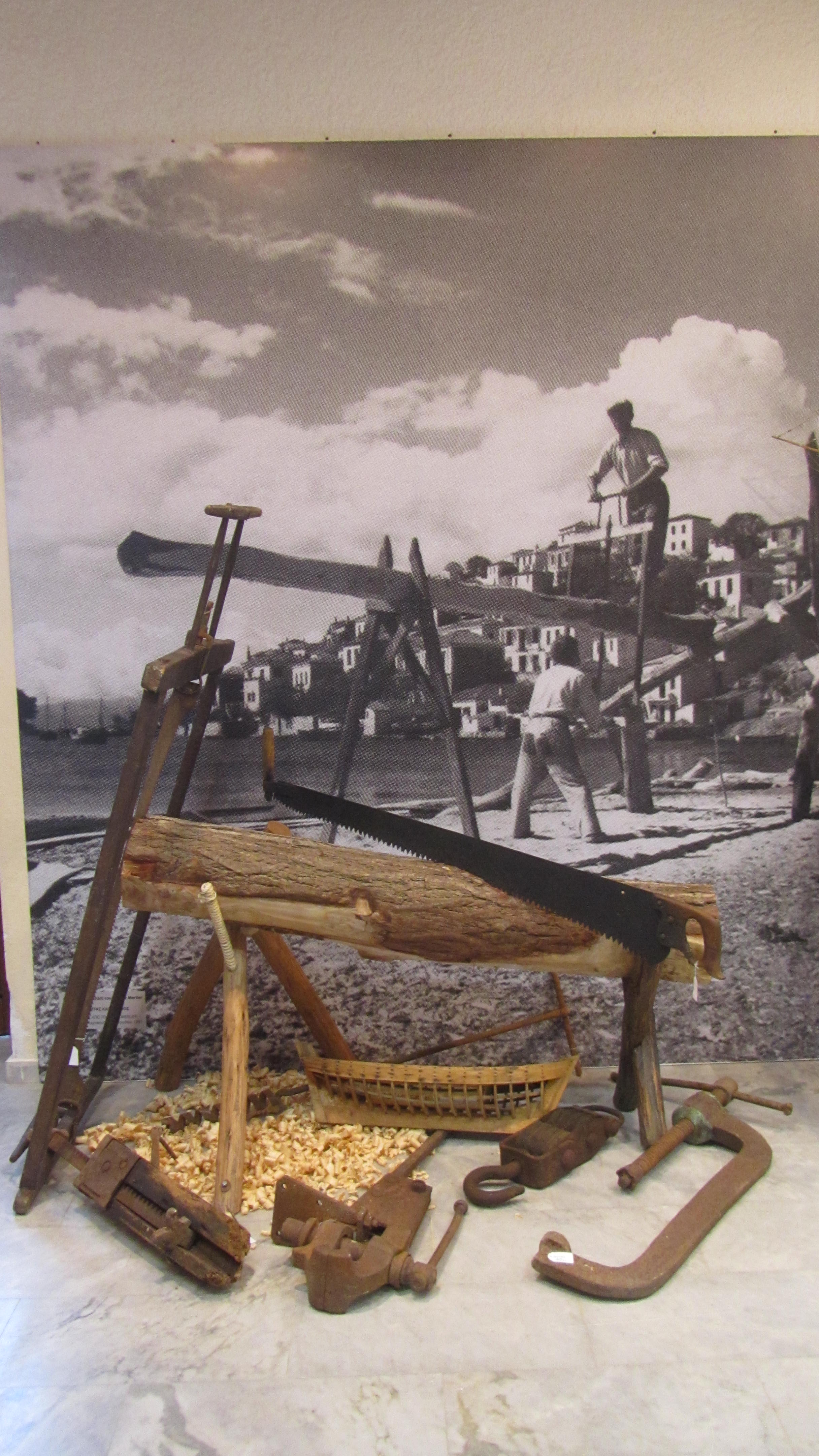 Maritime Museum of Skiathos exhibit