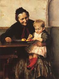 """Grandma's Favorite,"" by Greek painter George Jakobides"