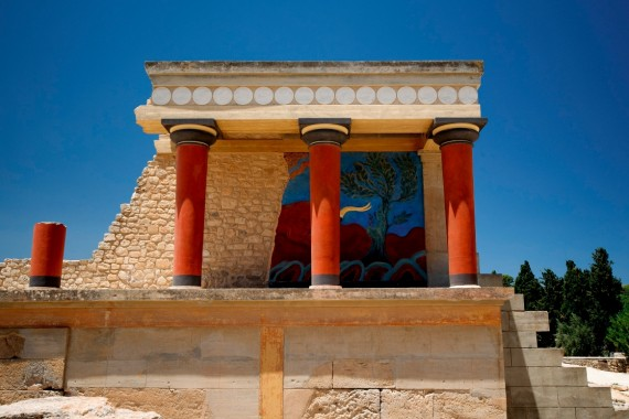 Ruins in Knossos