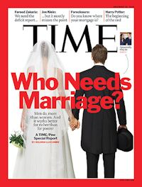 "According to the Pew Research Center, ""the share of adults who are married has been steadily declining for decades. In 2014, just half of Americans were married, down from 57% in 2000."