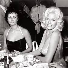 It is sad that some of the most vicious examples of meanness towards women come from other women. The media has reinforced the idea that a woman's worst enemy is another woman as Sophia Loren so blatantly shows in this old photo from the 50s.